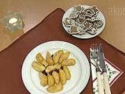 Opečená jablka s rozinkami a skořicovým cukrem- recept