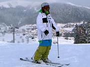Základní  lyžařsky  postoj a pluhování - Jak se naučit lyžovat - Lyžování 2. díl