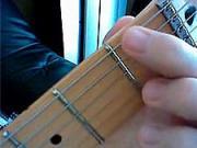 Ako sa hra na gitare 1- Akordy pre začiatočníkov - cvičenie LR-dohmat ukazovákom LR