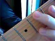 Kytarová škola 06 - cvičení LR- dohmat prostředníkem LR