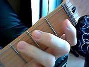 Ako sa hra na gitare 7 - Akordy pre začiatočníkov -  cvičenie LR-dohmat prstenníkom LR