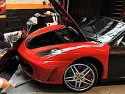 Ferrari F430 Spider - krycia fólia na auto
