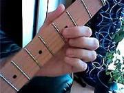 Ako sa hra na gitare 19 - Akordy pre začiatočnikov  -Sklz nahor (s vibrátom)
