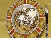 Orechové šúľance - recept na šúľance s orechami