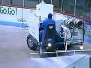 Príprava ľadovej plochy - Ako sa robi  hokejová ľadová plocha