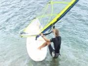 Plážovy štart -  ako sa robi plážovy štart - Windsurfing
