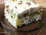 Zapekané cestoviny s brokolicou - recept na cestoviny s brokolicou a plesnivým syrom