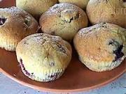 Čučoriedkovo-malinové muffiny - recept na ovocné muffiny / mafiny