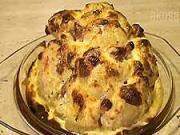 Zapékaný květák - recept na zapékaný květák plněný sýrem, žampiony a slaninou
