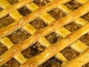 Jablkový mrežovník - recept na jablkový koláč