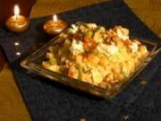Zemiakový šalát s kozím syrom - recept na zeniakový šalát