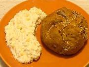Krabí šalát - recept na krabí šalát  so syrom a chilli papričkami