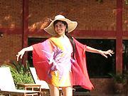 Plážová tunika - Jak se dá udelat stylová plážová tunika.