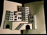 3D mesto z papiera  - ako vyrobiť 3D mesto z papiera