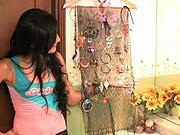 Organizér na šperky - Ako si vyrobiť zaujímavý organizer na šperky