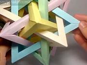 Velká hvězdice z papíru - jak udělat velkou papírovou hvězdici