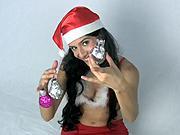 Dekorácia zo žiarovky - Vianočné ozdoby
