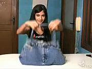 Taška na laptop zo starých džín - AKo vyrobiť tašku na laptop zo starých džín