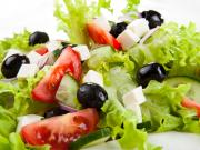 Grécky šalát - recept na grécky šalát