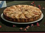 Broskyňový koláč - recept na kroskyňový koláč