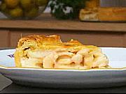 Hruškový  koláč - recept na smotanovo - hruškovy koláč