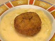 Zemiakový  prívarok - recept na zemiakovy prívarok s fašírkou - ako sa robia faširky-zemiaky na kyslo