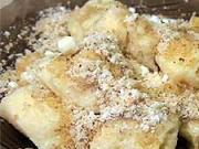 Tvarohové nudličky s ořechy - recept na tvarohové nudličky s ořechy