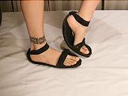 Sandály z pneumatiky - Ako vyrobiť sandály zo starej pneumatiky
