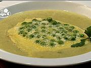 Rybacia krémová polievka - recept na rybaciu krémovú polievku s hráškom