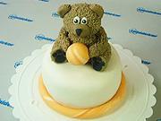 Medvedík na torte - ako vyzdobiť tortu medvedíkom