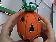 Halloweenska guľa - ako si vyrobiť halloweensku guľu