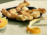 Sladké pečivo z listového těsta - recept