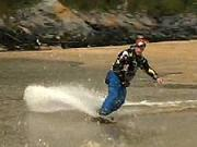 Jazda na snowboarde po vode - Ako jazdiť so snowboardom po vode