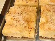 Jablkový koláč - recept na obrátený  jablkový koláč