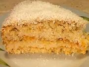 Kokosovy dort  - recept na citronovo-kokosovy dort