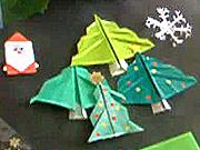Vánoční stromek z papíru - papírový vánoční stromek