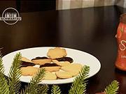 Linecké orechové koláčiky - recept  na linecke kolačiky