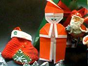 Papierový Santa Claus - Ako vyrobiť  Santu z papiera
