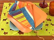 Obrúsok v tvare šarkana - Ako poskladať obrúsok do tvaru šarkana - Skladanie obrúskov