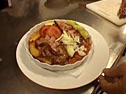 Zapekané bravčové mäso s fazuľkou - recept  na bravčové mäso s fazuľkou