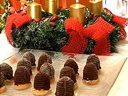 Vosí hnízda - recept na vánoční koláčky včelí uly