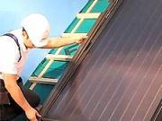 Montáž slunečních kolektorů - Jak namontovat sluneční kolektory SKW od společnosti Fakro.