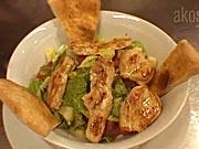 Kurací šalát - recept na zeleninový šalát s kuracím mäsom