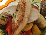 Pečené kuracie prsia na stredomorskej zelenine - recept na pečené kuracie prsia so stredomorskou zeleninou