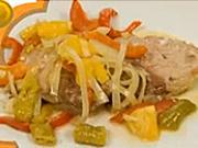Bravčový steak na pomarančoch - recept na bravčový steak