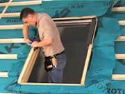Ako namontovať strešné okno Fakro - montáž strešného okna FTP-V