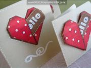Valentínsky pozdrav so srdiečkom
