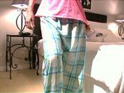 Ako si ušiť  pyžamové nohavice