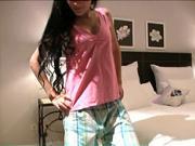 Ako si  ušiť  pyžamové tričko