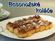 Bosonožské koláče – recept na Bosonožské koláče s tvarohom, lekvárom,makom alebo orechami